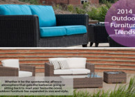 2014 Outdoor furniture trends (Lounging Furniture)